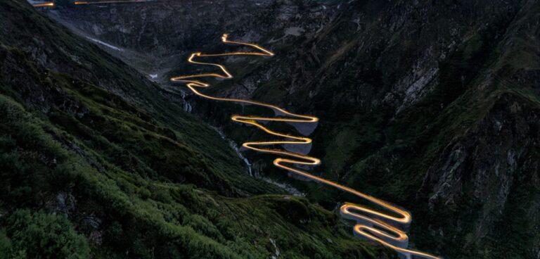 Strada montagna