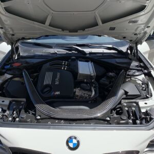 BMW M2 Competition cofano