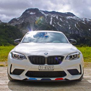 BMW M2 Competition giorno