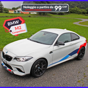 BMW M2 Competition laterale